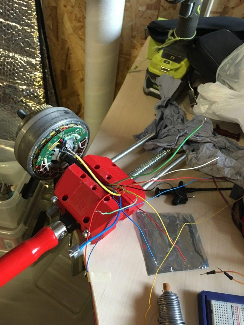 Motor som generator